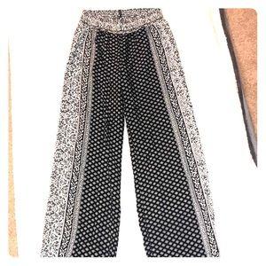Boho style pants